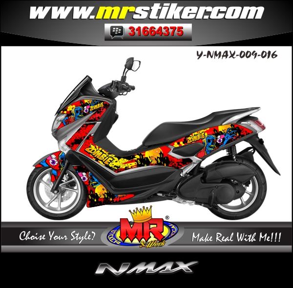 stiker-motor-nmax-simple-zombie