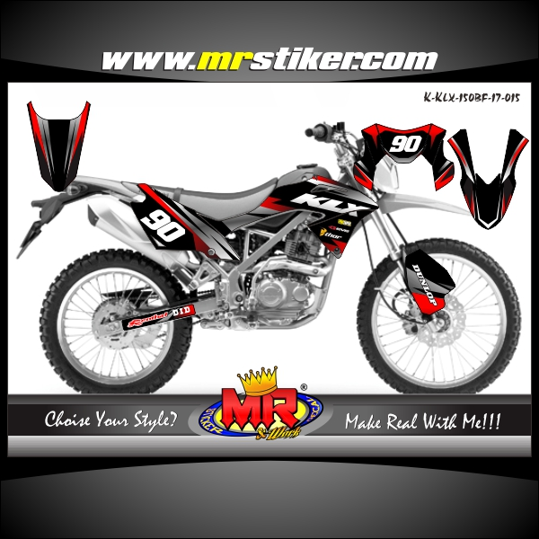 stiker-motor-klx-150-bf-black-silver-red