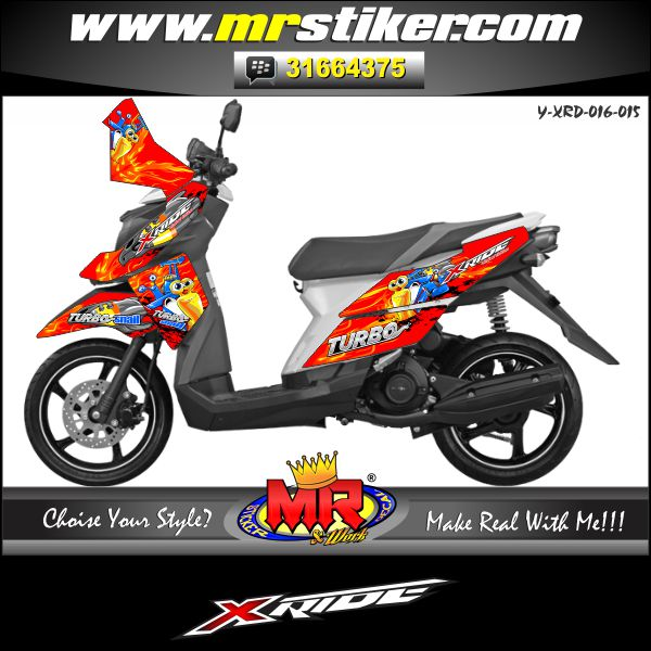 stiker-motor-x-ride-red-turbo