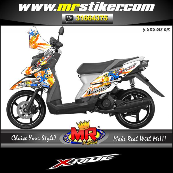 stiker-motor-x-ride-white-turbo