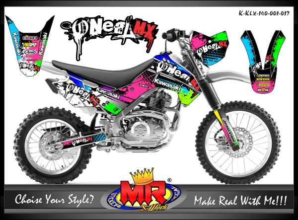 stiker-motor-klx-140-oneal-splat
