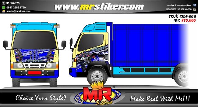 striping-stiker-truck-transformers