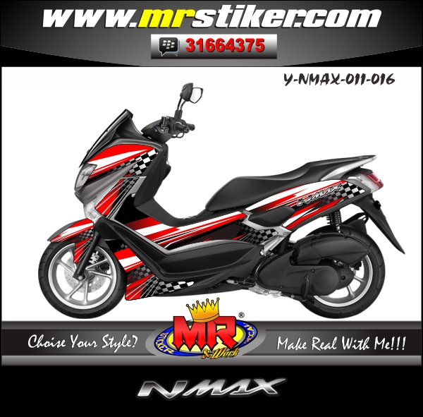 stiker-motor-nmax-race-grapic