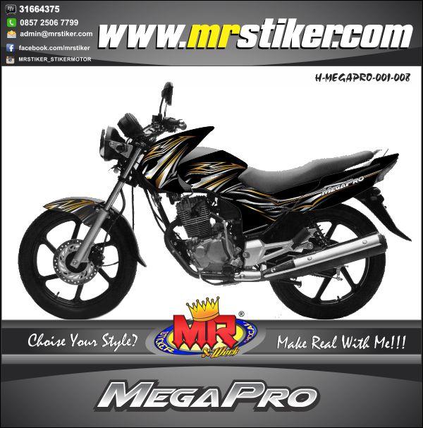 stiker-motor-megapro-silver-gold