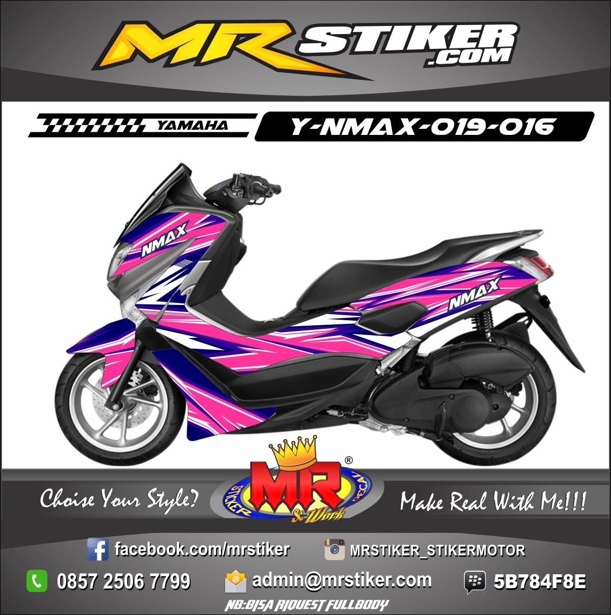 Stiker-Motor-Nmax-racing-pink-biru-sweet-candy
