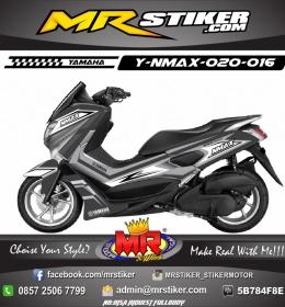 Stiker-Motor-Nmax-Elegan-Black-Horse-Grafis