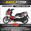 Stiker-Motor-Nmax-racing-hot-red