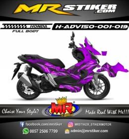 Stiker motor decal ADV 150 Graffiti (FullBody)