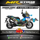 Stiker motor decal ADV 150 The King Doraemon (FullBody)