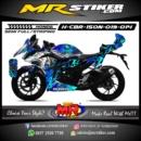 Stiker motor decal CBR 150 NEW Wolf blue