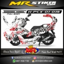 Stiker motor decal Honda PCX 150 Dybala Juventus (Fullbody)