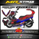 Stiker motor decal Honda PCX 150 Optimus Prime Transformers (FullBody)