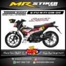 Stiker motor decal Satria F New FI CanBlock