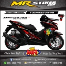Stiker motor decal Aerox 155 The Doctor 46