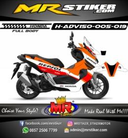 Stiker motor decal ADV 150 Repsol (FULLBODY)