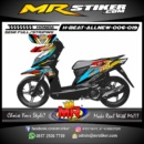 Stiker motor decal Beat AllNew Race 1