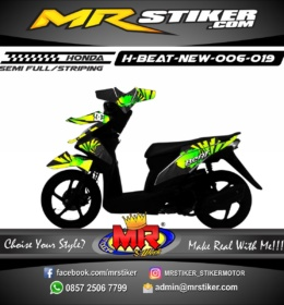 Stiker motor decal Beat New DC ken block