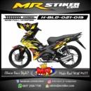 Stiker motor decal Blade Rockstar Racing