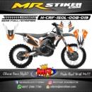 Stiker motor decal CRF 150 Lokal RockStar