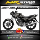Stiker motor decal Megapro The Wings tribal