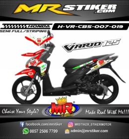 Stiker motor decal Vario CBS Race 2