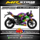 Stiker motor decal Ninja 250RR Joker