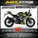 Stiker motor decal Ninja 250RR Mono Jangkar flame