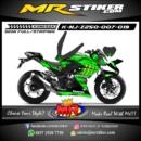 Stiker motor decal Ninja 250 Z Monster Energy