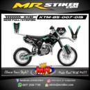 Stiker motor decal KTM 85 Race Tosca