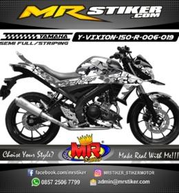 Stiker motor decal Vixion 150 R Gray Camo