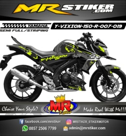 Stiker motor decal Vixion 150 R Shark Sunmoon