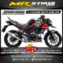 Stiker motor decal Vixion 150 R Skate Board Party