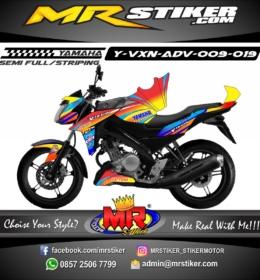 Stiker motor decal Vixion Advance Yellow Gradation