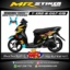 Stiker motor decal X-Ride New Line Gradation