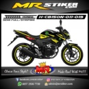 Stiker motor decal CB150R New yellow graphic monster energy