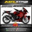 Stiker motor decal CBR150 Lokal Cyberage graphic