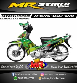 Stiker motor decal Karisma Green Lite Racing