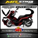 Stiker motor decal Honda PCX 150 Simple Grafis (FullBody)