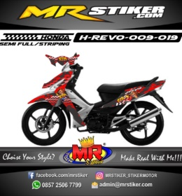Stiker motor decal Revo CTR (crash team racing)