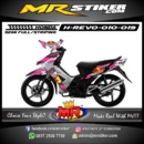 Stiker motor decal Revo RedBull X DC graphic race