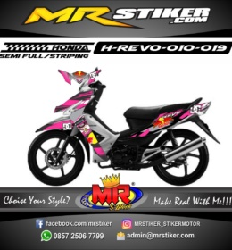 Stiker motor decal Revo RedBull X DC graphic race