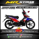 Stiker motor decal Revo Absolute Splater