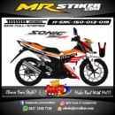 Stiker motor decal Sonic 150R REPSOL Grafis Racing