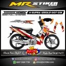 Stiker motor decal Supra X 125 OLD Repsol