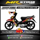 Stiker motor decal Supra FTX Alpinestars