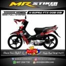 Stiker motor decal Supra FTX Shadow Speed