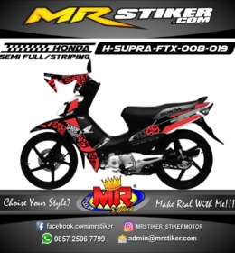 Stiker motor decal Supra FTX Shadow Speed