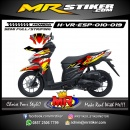 Stiker motor decal Vario EPS Alphinestar X Fox Race