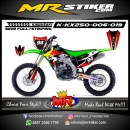 Stiker motor decal KX 250 RedBull Team