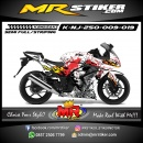 Stiker motor decal Ninja 250 Dead CS:GO
